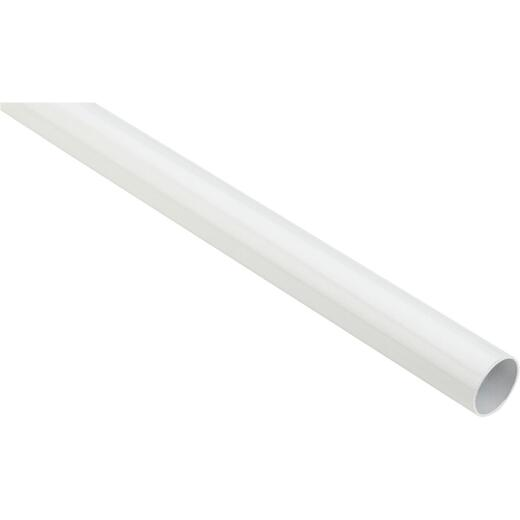 Stanley National 6 Ft. x 1-1/4 In. Cut-to-Length Closet Rod, White