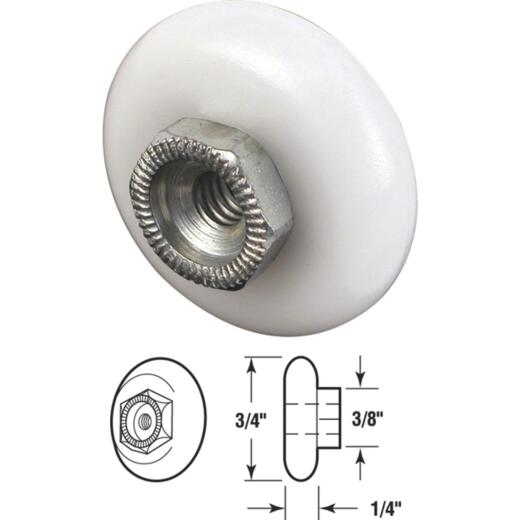 Prime-Line 3/4 In. x 3/8 In. Oval Shower Door Roller (2-Count)