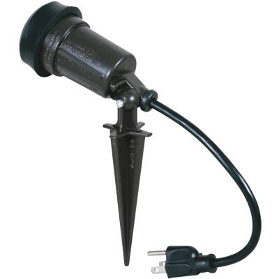 Hubbell Incandescent Bronze Landscape Stake Light