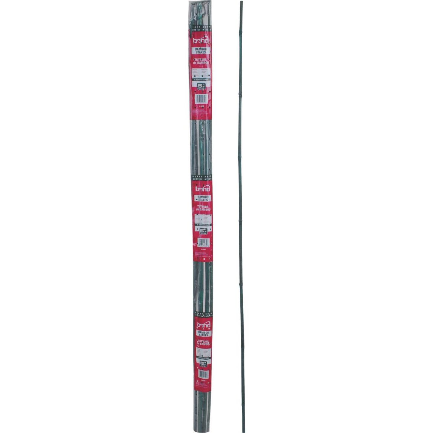 Bond 5 Ft. Green Bamboo Plant Stakes (6-Pack) Image 2