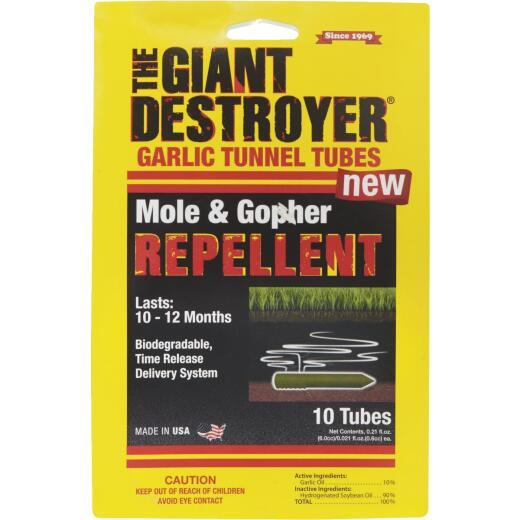 The Giant Destroyer 2.1 Oz. Concentrate Organic Mole & Gopher Repellent (10-Pack)