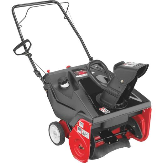 Yard Machines 21 In. 123cc Single-Stage Gas Snow Blower