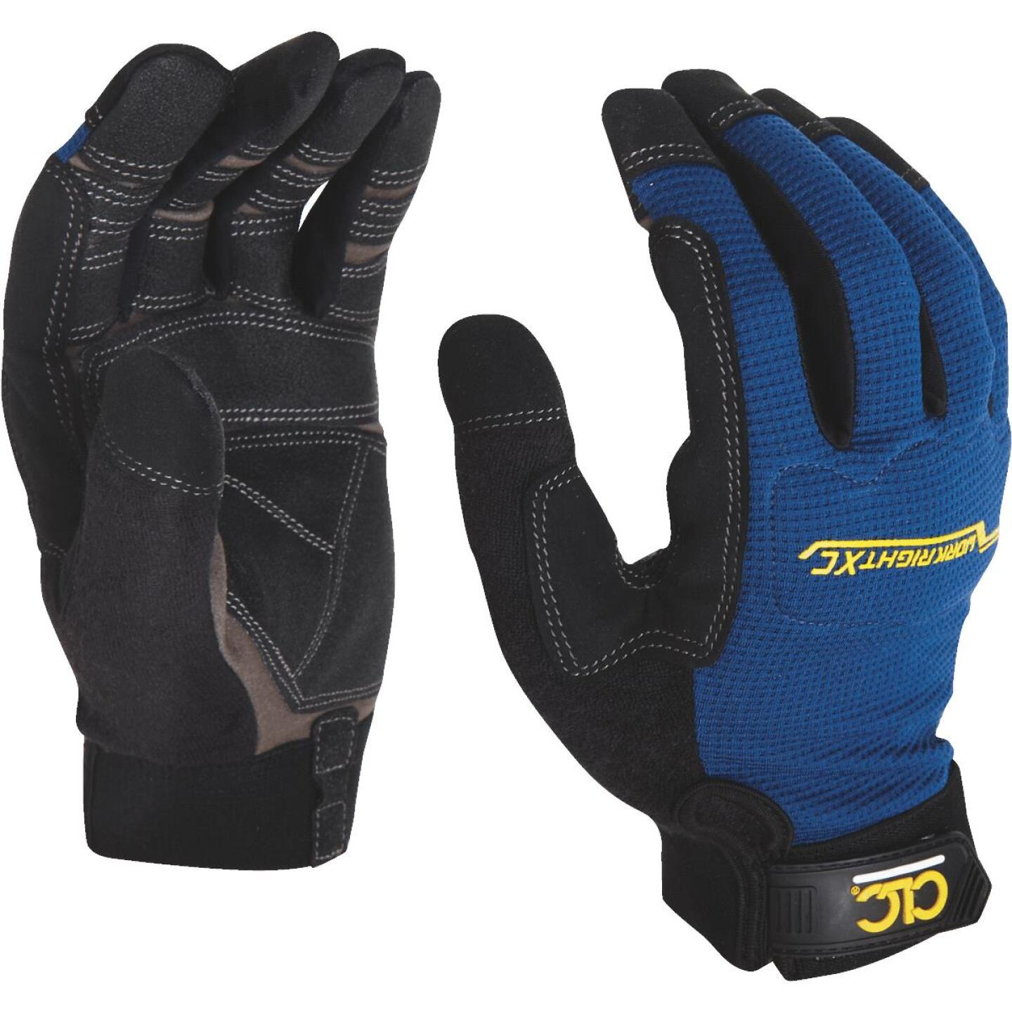 CLC Workright XC Men's XL Synthetic Leather Flex Grip High Performance Glove Image 3