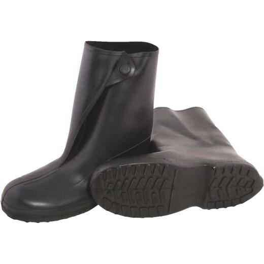 Tingley 10 In. Rubber Overshoe Boot, Men's Shoe Size 14 to 15.5