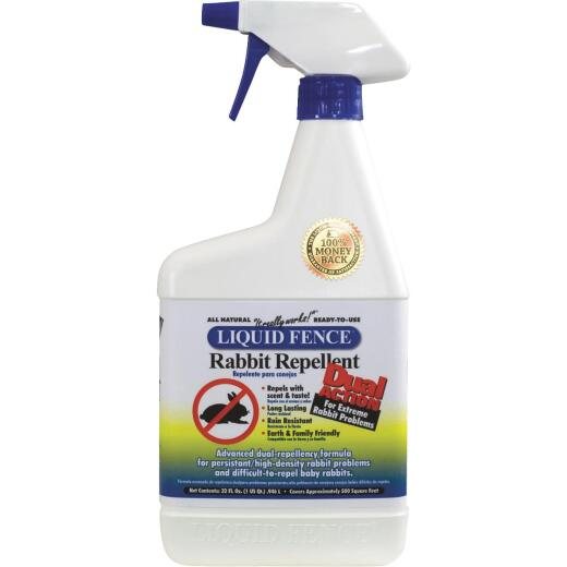 Liquid Fence 32 Oz. Ready To Use Dual Action Rabbit Repellent